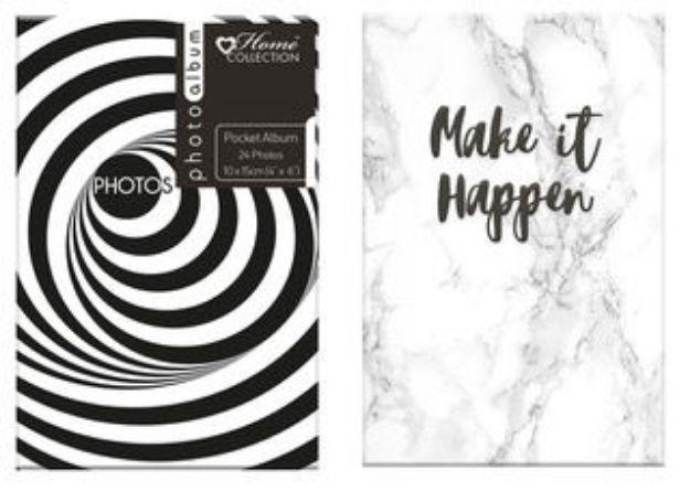 Slika od FOTO ALBUM ANCHOR BLACK WHITE 10X15 CM 24 SLIK TEAI