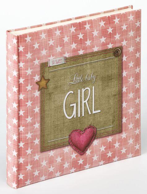 Slika od FOTO ALBUM WALTHER LITTLE BABY GIRL, 28X30,5 PINK 50 STRANI BELIH UK-100-R