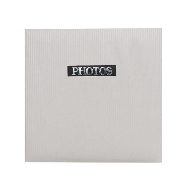 Slika od FOTO ALBUM ELEGANCE MEMO 13X18CM 200 SLIK WHITE